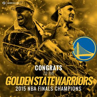 2015 NBA Finals Champions