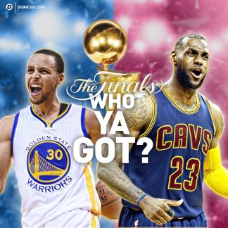 Who Ya Got? [2015 NBA Finals]