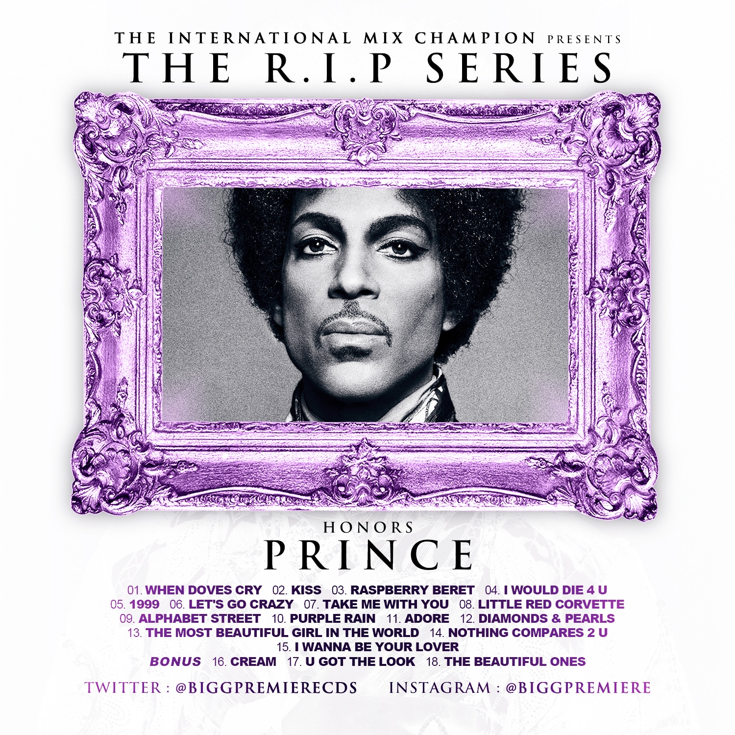 The R.I.P. Series - Honors Prince