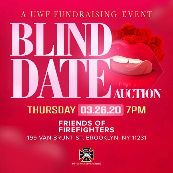 UWF Blind Date Auction flyer design by JessMadeIt