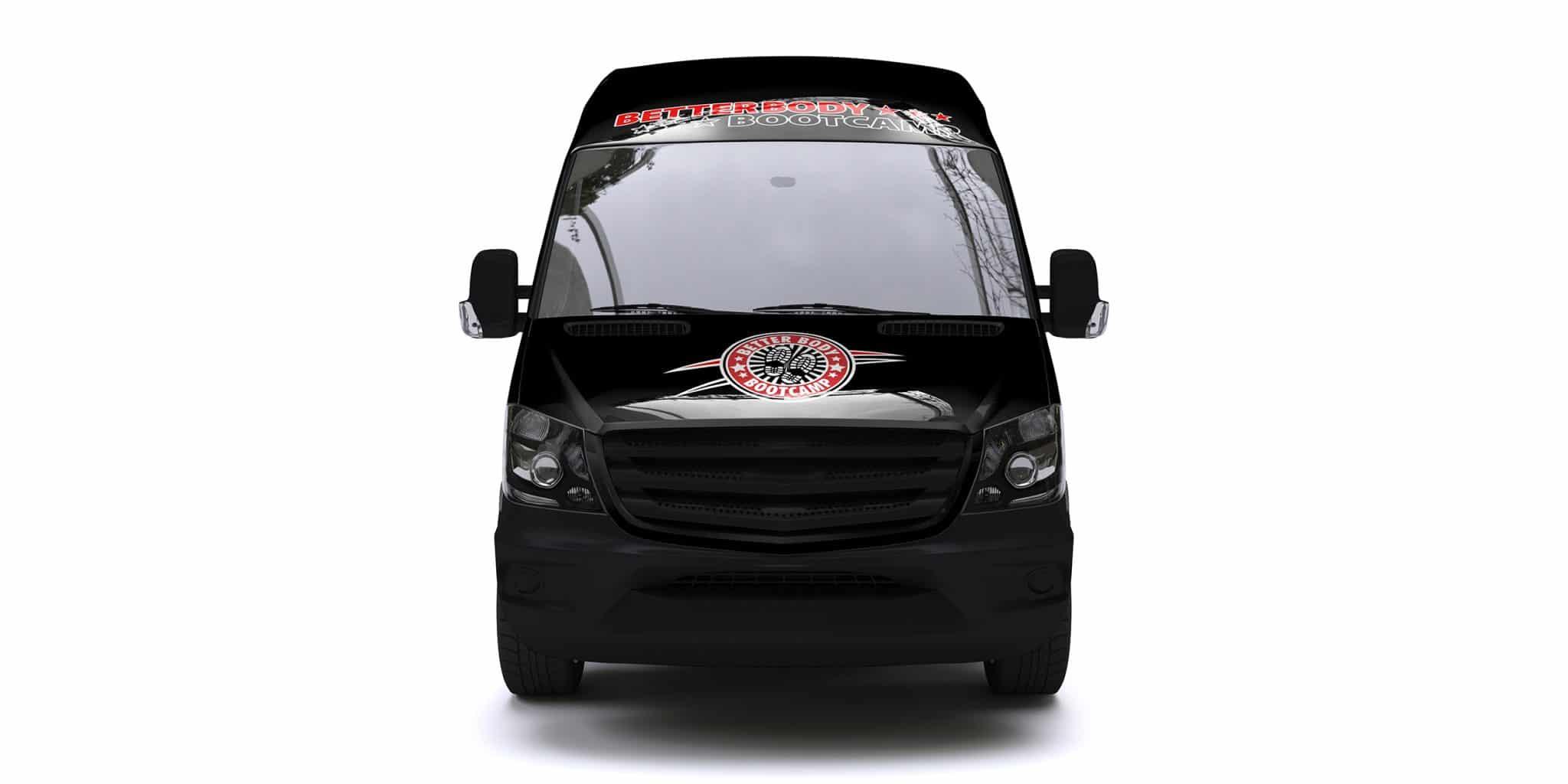 Better Body Bootcamp (Better Body Mobile) Sprinter Van Wrap [Front]